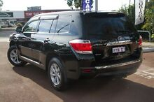 2010 Toyota Kluger GSU45R KX-R AWD Black 5 Speed Sports Automatic Wagon Cannington Canning Area Preview