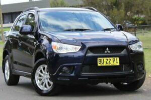 2012 Mitsubishi ASX XA MY12 Activ 2WD Blue 6 Speed Constant Variable Wagon Lansvale Liverpool Area Preview