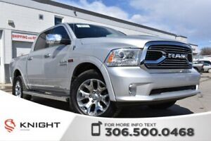2016 Ram 1500 Limited | Navigation | Heated/Cooled Leather Seats