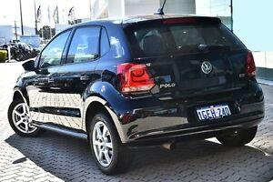 2013 Volkswagen Polo 6R MY13.5 77TSI Comfortline Black/Grey 6 Speed Manual Hatchback Victoria Park Victoria Park Area Preview
