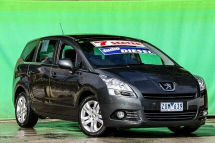 2013 Peugeot 5008 MY13 Active HDI Grey 6 Speed Automatic Wagon Ringwood East Maroondah Area Preview