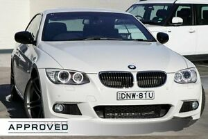 2013 BMW 320D E93 MY1112 Steptronic White 6 Speed Sports Automatic Convertible Brookvale Manly Area Preview