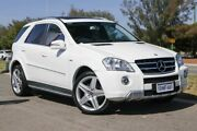 2010 Mercedes-Benz ML300 CDI W164 MY10 BlueEFFICIENCY AMG Sports Calcite White 7 Speed Clarkson Wanneroo Area Preview