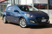 2015 Hyundai i30 GD3 Series II MY16 Active Blue 6 Speed Sports Automatic Hatchback Osborne Park Stirling Area Preview