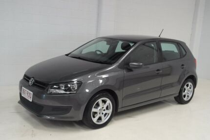 2011 Volkswagen Polo 6R MY11 77TSI Comfortline Grey 6 Speed Manual Hatchback