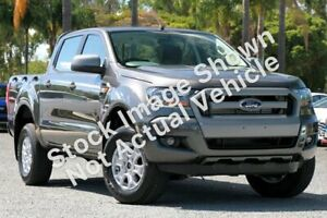 2017 Ford Ranger PX MkII XLS Double Cab Grey 6 Speed Sports Automatic Utility Bellevue Swan Area Preview