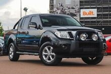 2012 Nissan Navara D40 S5 MY12 ST-X 550 Black 7 Speed Sports Automatic Utility Fremantle Fremantle Area Preview