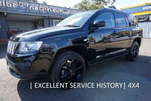 2012 Jeep Compass MK MY12 Limited CVT Auto Stick Black 6 Speed Constant Variable Wagon Dandenong Greater Dandenong Preview