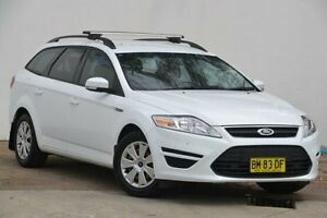 2011 Ford Mondeo MC LX PwrShift TDCi White 6 Speed Sports Automatic Dual Clutch Wagon Blacktown Blacktown Area Preview