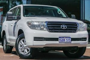 2009 Toyota Landcruiser VDJ200R GXL White 6 Speed Sports Automatic Wagon Wilson Canning Area Preview