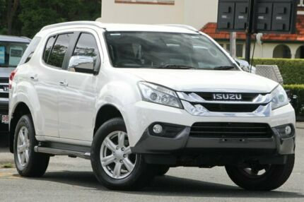 2014 Isuzu MU-X MY14 LS-T Rev-Tronic White 5 Speed Sports Automatic Wagon Nundah Brisbane North East Preview