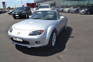 2007 Mazda MX-5 NC Series 1 Roadster Coupe Silver Sports Automatic Strathmore Heights Moonee Valley Preview