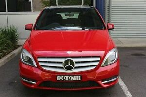 2012 Mercedes-Benz B180 W246 BlueEFFICIENCY DCT Red 7 Speed Sports Automatic Dual Clutch Hatchback Hilton West Torrens Area Preview