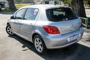 2007 Peugeot 307 MY06 Upgrade XS 1.6 Silver 4 Speed Tiptronic Hatchback
