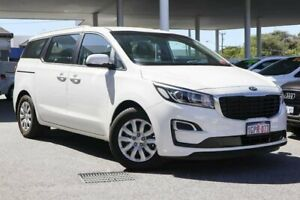 2018 Kia Carnival YP MY19 S White 8 Speed Sports Automatic Wagon Osborne Park Stirling Area Preview
