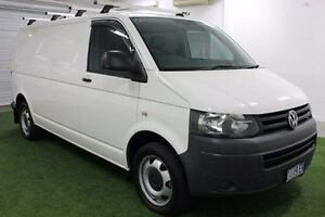 2011 Volkswagen Transporter T5 MY11 Low Roof LWB DSG 4MOTION White 7 Speed Moonah Glenorchy Area Preview
