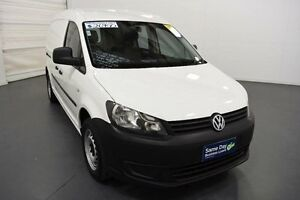 2011 Volkswagen Caddy 2K MY11 Maxi TDI250 White 7 Speed Automatic Van Moorabbin Kingston Area Preview