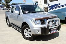 2010 Nissan Navara D40 ST (4x4) Silver 6 Speed Manual Dual Cab Pick-up Cannington Canning Area Preview