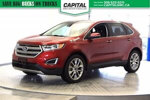 2015 Ford Edge Titanium AWD *Heated/Cooled Seats-Push Button Sta