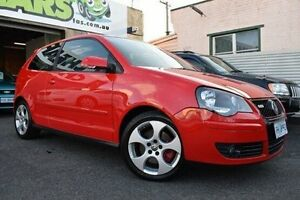 2005 Volkswagen Polo 9N MY2006 GTi Red 5 Speed Manual Hatchback Launceston Launceston Area Preview