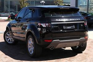 2013 Land Rover Range Rover Evoque L538 MY13 TD4 CommandShift Pure Black 6 Speed Sports Automatic Osborne Park Stirling Area Preview
