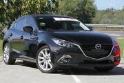 2014 Mazda 3 BM5438 SP25 SKYACTIV-Drive Black 6 Speed Sports Automatic Hatchback Springwood Logan Area Preview