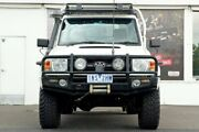 2010 Toyota Landcruiser VDJ79R MY10 GX White 5 Speed Manual Cab Chassis Ferntree Gully Knox Area Preview