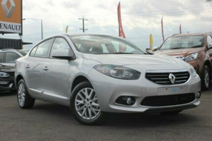 2014 Renault Fluence  Silver Constant Variable Sedan Watsonia North Banyule Area Preview