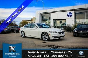 2016 BMW 5 Series 528i xDrive w/ Nav/360 Cam/Soft-Close Doors/He