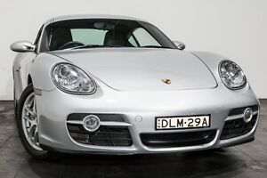 2007 Porsche Cayman 987 MY07 Silver 5 Speed Sports Automatic Coupe Rozelle Leichhardt Area Preview