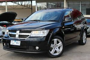 2010 Dodge Journey JC MY10 R/T Black 6 Speed Automatic Wagon Cheltenham Kingston Area Preview