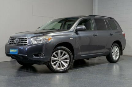 2009 Toyota Kluger GSU45R Altitude (4x4) Grey 5 Speed Automatic Wagon Woodridge Logan Area Preview