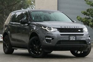 2015 Land Rover Discovery Sport LC MY16.5 Si4 SE Grey 9 Speed Automatic Wagon Petersham Marrickville Area Preview