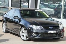 2009 Ford Falcon FG XR6 Turbo Black 6 Speed Sports Automatic Sedan Brookvale Manly Area Preview