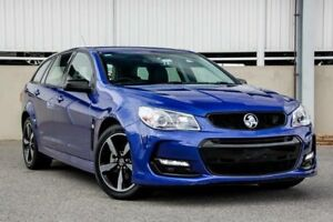 2016 Holden Commodore Vfii MY16 SV6 Black Edition Blue 6 Speed Automatic Sportswagon Cannington Canning Area Preview