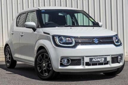 2018 Suzuki Ignis MF GLX Pure White Continuous Variable Wagon