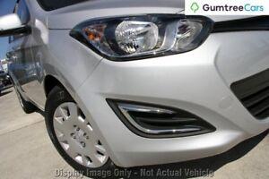 2015 Hyundai i20 PB MY16 Active Silver 6 Speed Manual Hatchback