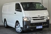 2014 Toyota Hiace TRH201R MY14 LWB White 5 Speed Manual Van Bayswater Bayswater Area Preview