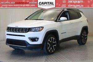 2017 Jeep Compass Limited AWD*Leather*Nav*