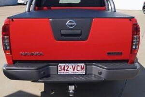 2014 Nissan Navara D40 S7 Titanium Flame Red 5 Speed Sports Automatic Utility