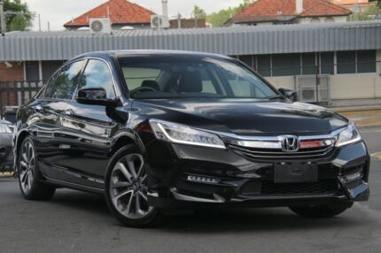 2017 Honda Accord 9th Gen MY17 VTi-L Black 5 Speed Sports Automatic Sedan Nundah Brisbane North East Preview