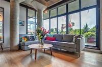 WoW Stunner of a 2 Bedroom LOFT by the PARK with Large TERRACE!