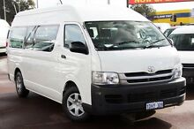 2010 Toyota Hiace TRH223R MY10 Commuter High Roof Super LWB White 4 Speed Automatic Bus Cannington Canning Area Preview
