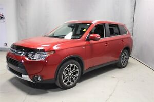 2015 Mitsubishi Outlander AWC GT Accident Free,  Leather,  Heate