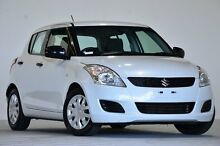 2013 Suzuki Swift FZ GA White 4 Speed Automatic Hatchback Coopers Plains Brisbane South West Preview