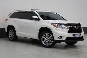 2015 Toyota Kluger GSU55R Grande (4x4) Crystal Pearl 6 Speed Automatic Wagon Bentley Canning Area Preview