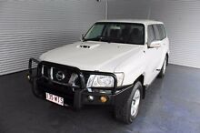 2011 Nissan Patrol GU 7 MY10 ST White 5 Speed Manual Wagon Parramatta Park Cairns City Preview