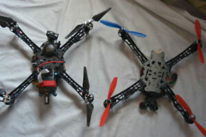 NEW custom Built DRONE Quad copter with FPV & 2 axis BGC gimbal