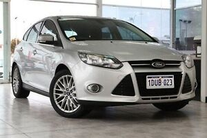 2011 Ford Focus LW Sport PwrShift Silver 6 Speed Sports Automatic Dual Clutch Hatchback Victoria Park Victoria Park Area Preview