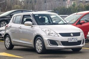 2015 Suzuki Swift FZ MY15 GL Silver 4 Speed Automatic Hatchback Ringwood East Maroondah Area Preview